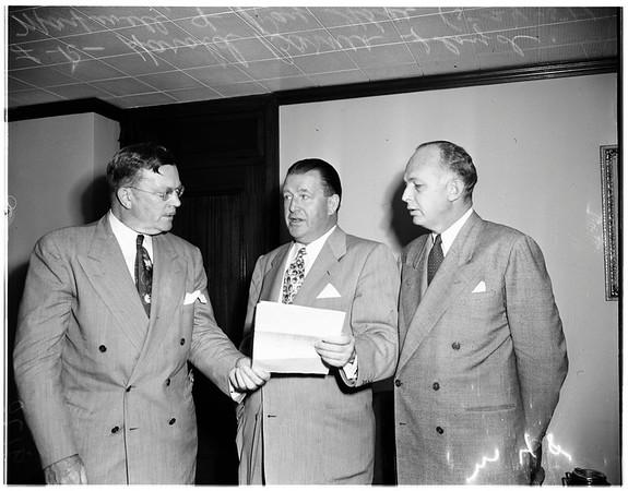 Advertising meet at Rancho Santa Fe, 1951