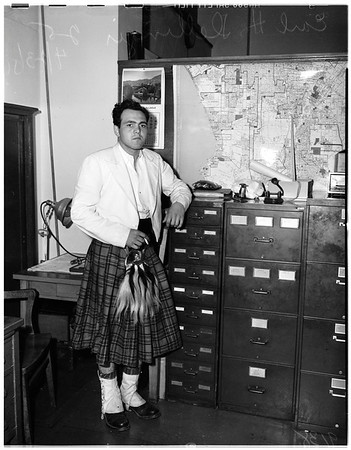 Bad check charge, 1951