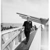 "Arrival of USS ""Missouri"" -- Long Beach Harbor, 1951"