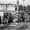 Traffic accident (Sepulveda and Montana -- W. L. A.), 1951