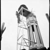 Air raid siren on Van Nuys City Hall, 1951