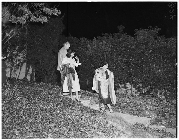 Raid suspects (prostitutes), 1951