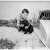 Dog warns of fire (1715 Junipero Avenue in Long Beach), 1951
