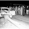 Traffic accident, 167 South Fairfax Avenue, 1951