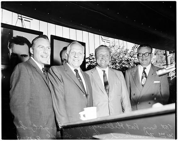 Eisenhower -- Nixon rally, 1958