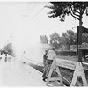 Busted water main (13400 block on Ventura Boulevard Sherman Oaks), 1951