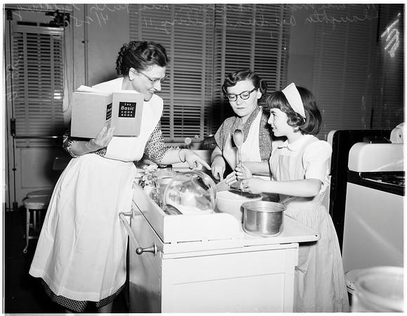 Parents in school -- Foshay Jr. High School, 1951