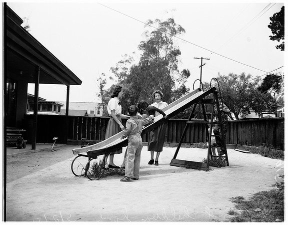 Exceptional children home, 1951