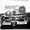 Pig exhibit on tax burden campaign, 1951