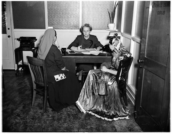 Gypsy child investigation, 1951