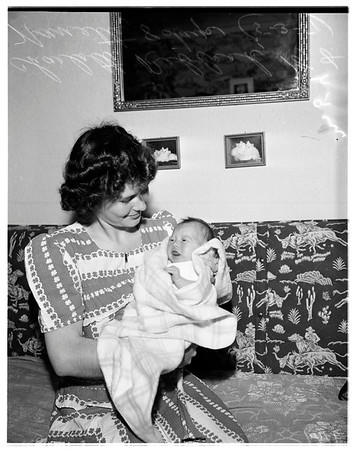 Soldiers baby, 1951