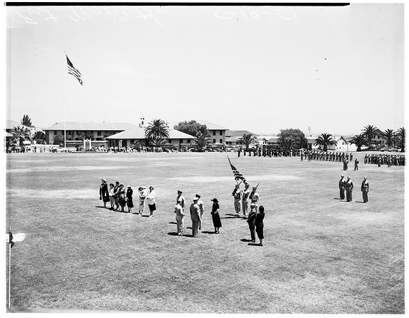 Armed Forces Day at Fort MacArthur, 1951