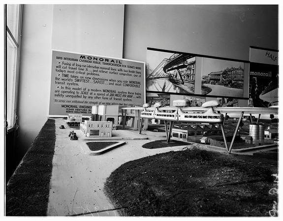 Monorail model, 1951