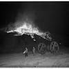 Oil derrick fire, 1951