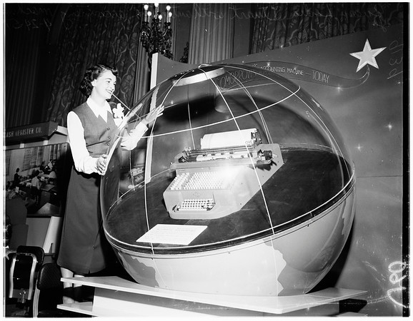 Southern California business show, 1951