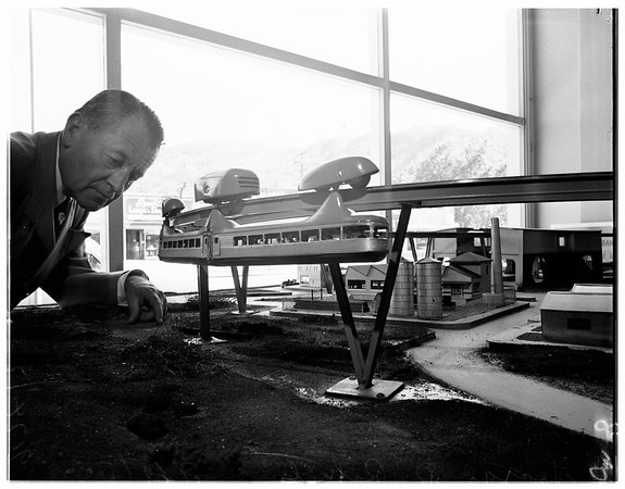 Monorail model, 1951