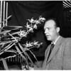 Cop orchid grower in Tujunga, 1951