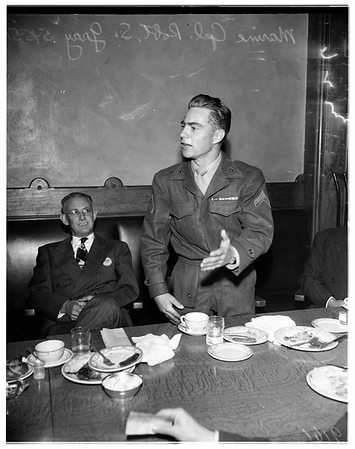 Legion luncheon, 1951