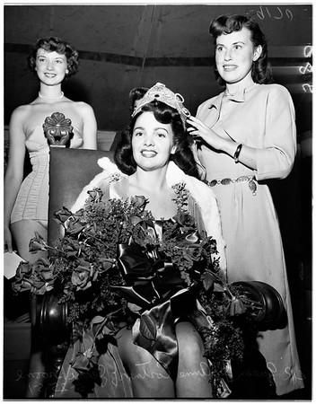 Verdugo Days queen (Glendale), 1951