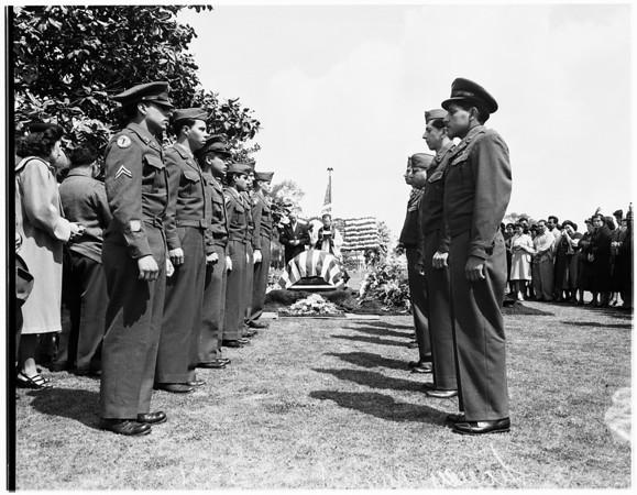 Leavey funeral, 1951