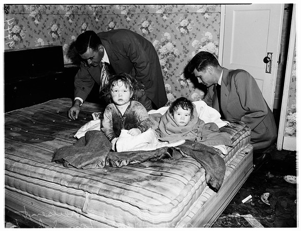 Children neglect (San Pedro) 435 West 16th Street, 1952