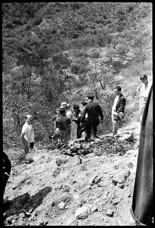 Plane crash (Encino), 1951