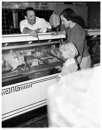 Meat prices, 1951