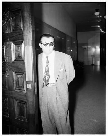 Bookie conspiracy preliminary, 1951