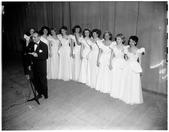 """Cinderalla"" award...Pantages Theatre -- Hollywood, 1951"