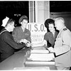 USO opening (Hill Street subway terminal), 1951