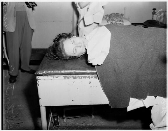 Rat poison victim, 1951