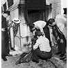 Baby found in incinerator (rear of market at 4710 South Broadway), 1951