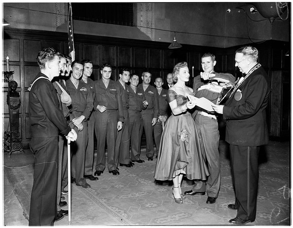 Elks heroes night, 1951