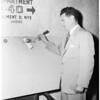 Keyhole bookmaking story, 1951
