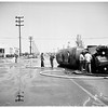 Molasses truck upset (Eastern and Slauson), 1951