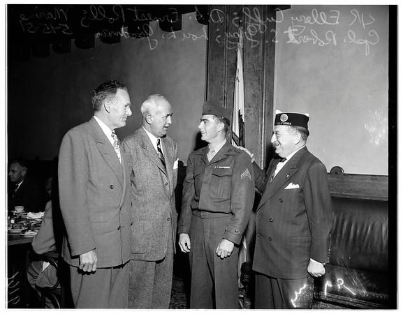 Legion luncheon, 1951