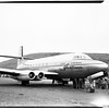 AVRO 4-engine pure jet transport plane... at Hughes Aircraft Company airport, 1952