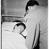 Boy found sleeping in rear of 7072 Hawthorne Avenue (Hollywood Receiving Hospital), 1952.