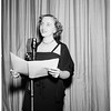 Margaret Truman debut as radio actress, 1951.