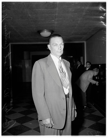 Cohen income tax trial hearing, 1951