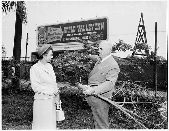 Freeway billboard tour and luncheon, 1951