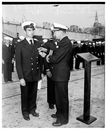 "Minesweeper ""Endicott"" awards, 1951"