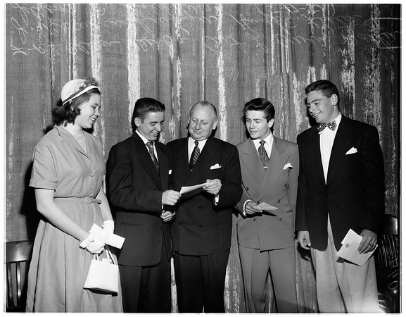 Bank of American awards, 1951
