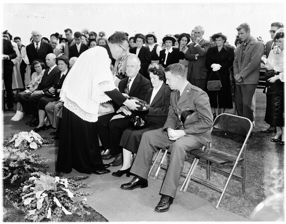 Leavey funeral, 1951