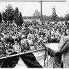 Memorial Day services (Olam Cemetary), 1951