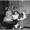 Alpha Delta Pi planning party, 1951