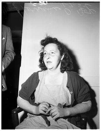 Arson and burglary, 1952