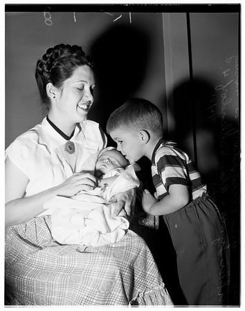 War baby, 1951