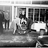 Gas explosion in bakery (538 East 1st Street, Long Beach), 1951
