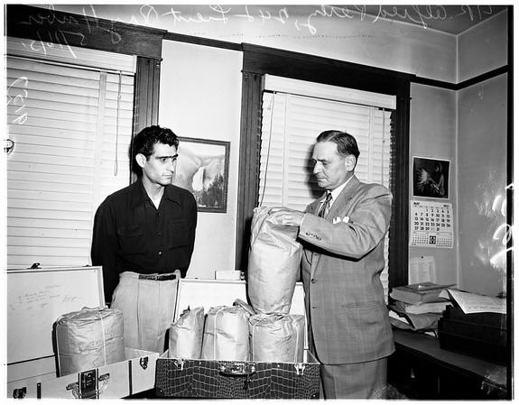 Dope raid, 1951